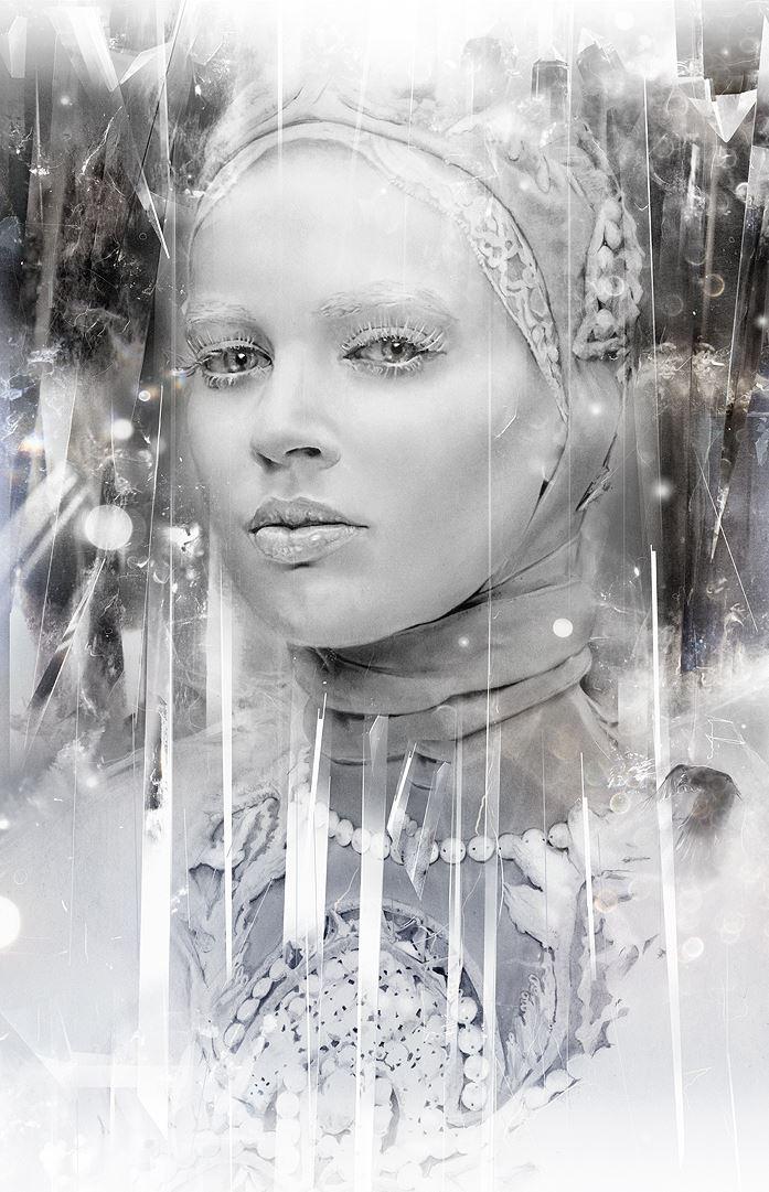 Alexis Marcou. Рекламная графика. Снежная королева