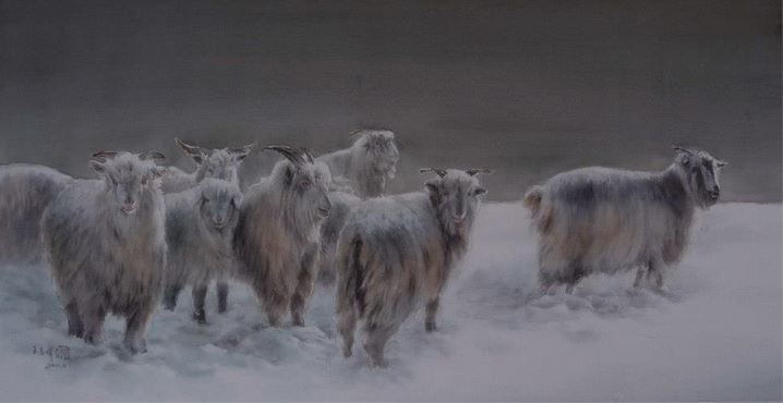 IWS 2012.  Wang Chunhui. First Snow. 112х60