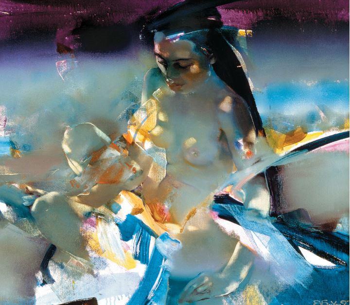 Художник Валерий Блохин - Все интересное в искусстве и не только