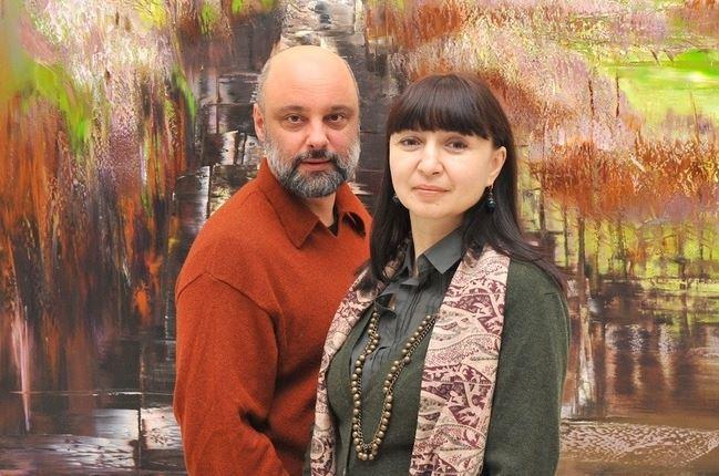 Валерий и Лариса Блохины