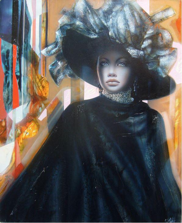 Jean-Baptiste Valadie. Необычные женские портреты. Четырнадцатый