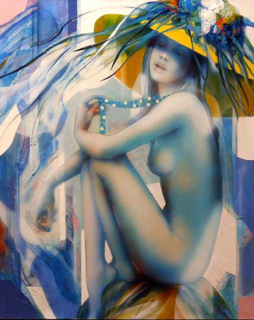 Jean-Baptiste Valadie. Необычные женские портреты. Десятый