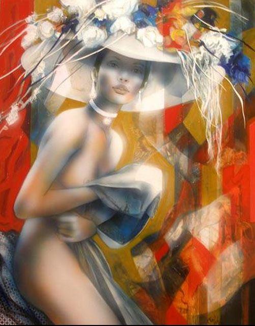 Jean-Baptiste Valadie. Необычные женские портреты. Седьмой