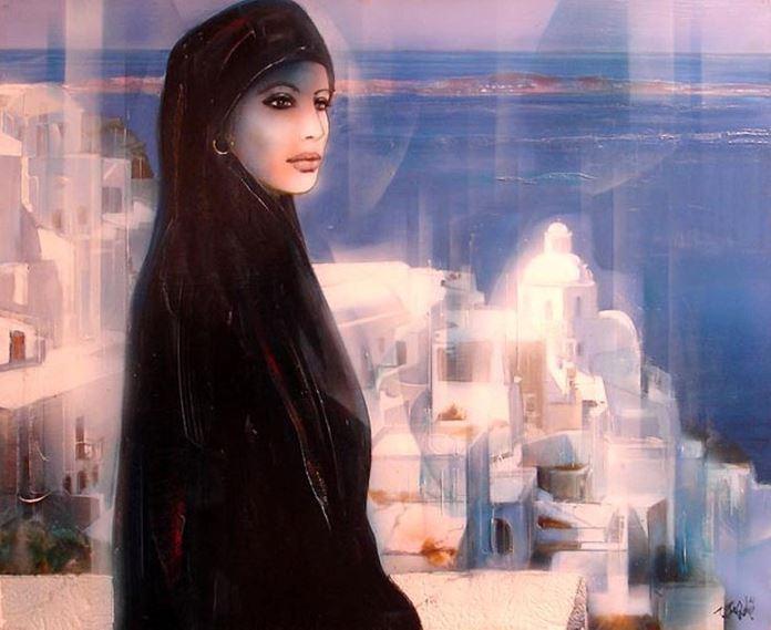 Jean-Baptiste Valadie. Необычные женские портреты. Тринадцатый