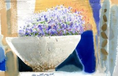 Корейский акварелист Shin Jong Sik. Цветы акварелью. Четвертые
