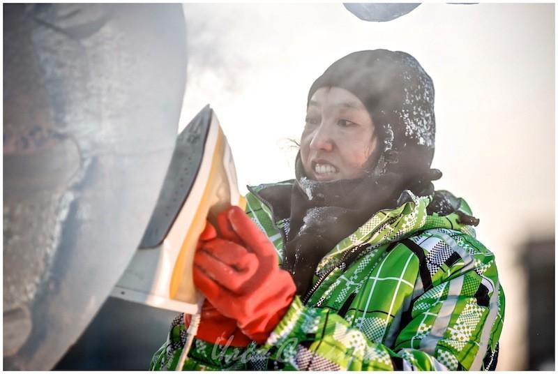 Использования утюга для достижения максимальной прозрачности льда