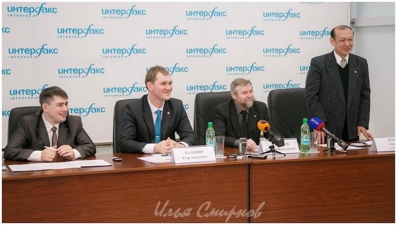 Выступление Хао Голи на пресс-конференции
